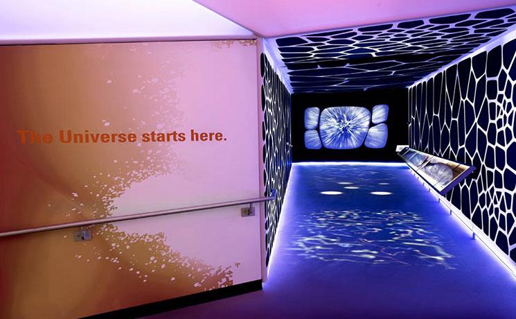 Entry Hallway at Alder Planetarium